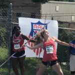 Dragons' Flieg is a Junior Olympic National Champion; Wins Javelin Competition