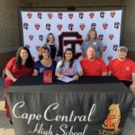 Grace Groshong Signs On to Cheer at Mineral Area College